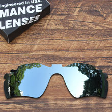 72219b110d ToughAsNails Polarized Replacement Lenses for Oakley Radar Path Vented  Sunglasses Metallic Silver Color (Lens Only)
