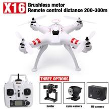 Date Bayang X16 moteur Brushless FPV Drone Sans Tête Mode 300 M Distance avec 2MP Wifi Caméra Ou 4 K Caméra Rc Quadcopter VS X101