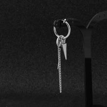 Bangtan7 Jimin Style Cross Spike Earring