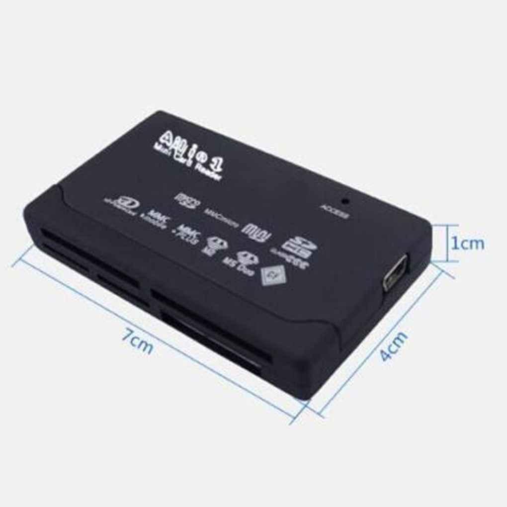 جميع في واحد قارئ بطاقات USB 2.0 قارئ البطاقات SD داعم محول TF CF SD البسيطة SD SDHC MMC MS XD