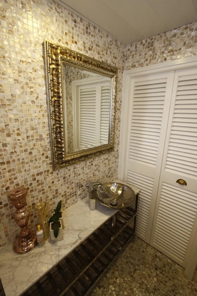 Baldosas Baño Baratas:Bathroom Wall Tile Mosaic