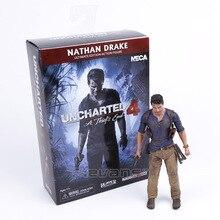 Neca uncharted 4 um ladrão final nathan drake ultimate edition pvc figura de ação collectible modelo brinquedo 18cm