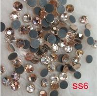 Free Shipping!1000gross/14400pcs, (1.9 2.0mm) , SS6 crystal hot fix stone DMC RHINESTONES FOR garments rhinestones