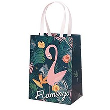 Flamingo paper Gift bag wedding Engagement bridal Baby Shower kid adult Birthday Bachelorette Party Anniversary decoration favor стоимость