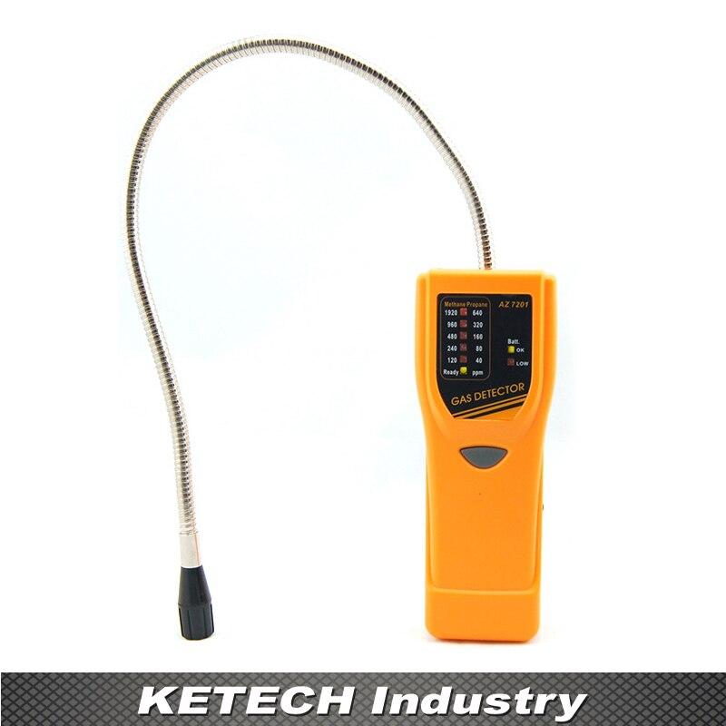 Detección de gas combustible, detector de gas combustible, detector de metano AZ-7201