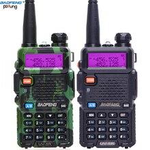 Baofeng UV-5R Walkie Talkie bf uv5r cb радио Ручной long range коммуникатор передатчик трансивер двухстороннее радио + гарнитура