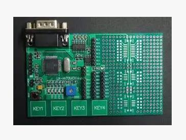 Free shipping PIC16F1937 capacitive touch button, PIC learning development board plate PIC