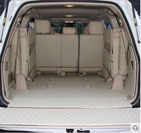 Good Special Trunk Mats For Toyota Land Cruiser 100 7seats 2007 1998 Durable Waterproof Boot Carpets