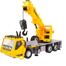 RC Truck Crane Remote Control Hoist 1:26 Wireless Construction Vehicle Engineering Heavy Duty Electronic Toy Model Hobby For Kid