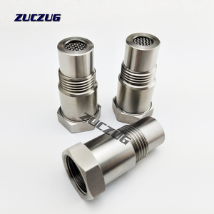Image 5 - Universal Stainless Steel M18x1.5 O2 Oxygen Sensor Extension Spacer Remove Fault Connector Silver