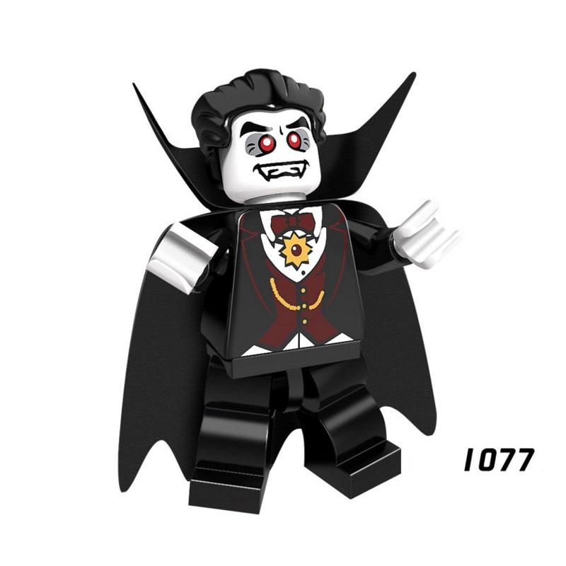 Single Sale Super Heroes Star Wars 1077 Dracula Model Mini Building Blocks Figure Bricks Toy Kids Gift