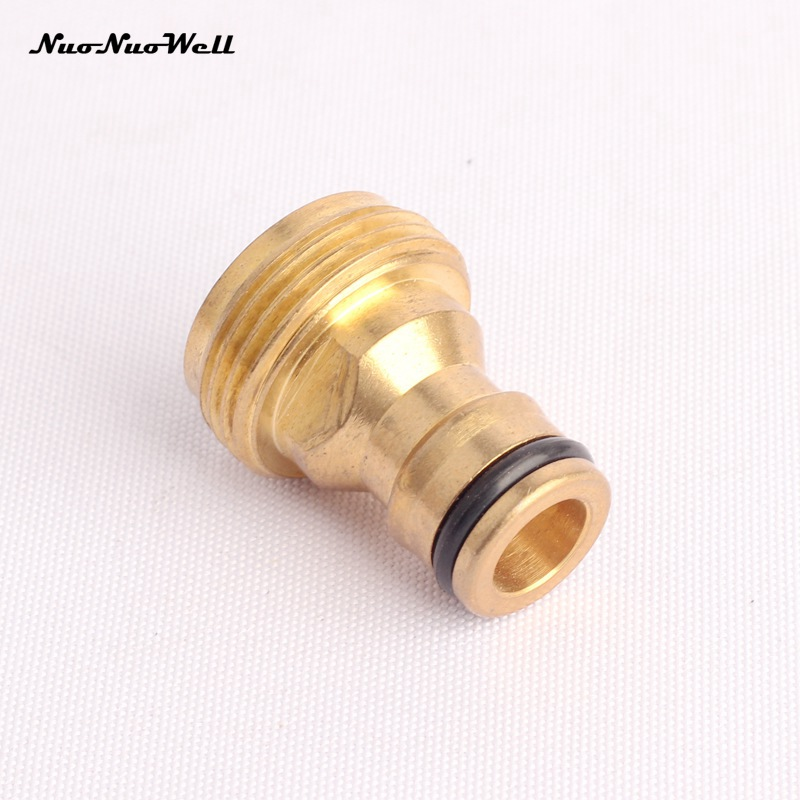 Pcs quot male thread copper nipple joint hose end