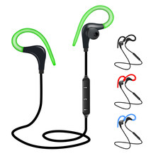 BT7 Bluetooth Earphone Wireless Headphones Mini Handsfree Bluetooth Headset With Mic Hidden Earbuds For iPhone all Smart Phone(China)