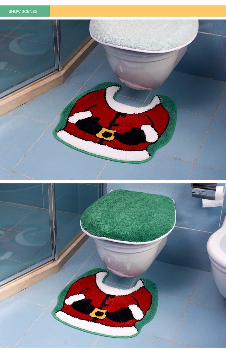Jõuluteemaline WC komplekt