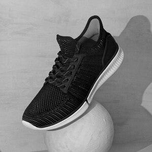 Image 2 - Nieuwe Originele Xiaomi Mijia Smart Loopschoenen Mannen Professionele Sport Sneaker Ondersteuning Xiaomi Smart Chip (Niet Inclusief)