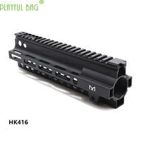 Outdoor Activities CSPB Playful bag HK416 Duplicate Nylon Casing Fishbone Toy Water Bullet Gun best gift accessory 9inch OI98