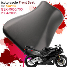 For Suzuki GSXR600/750 K4 2004 2005 Front Seat Cover Cushion Leather Pillow GSXR600 GSXR750 04 05 Motorcycle Rider Driver
