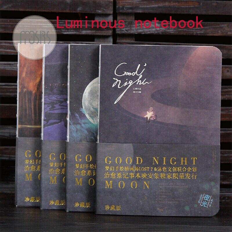 Naked creative luminous original calendar handbook diary notebookNaked creative luminous original calendar handbook diary notebook