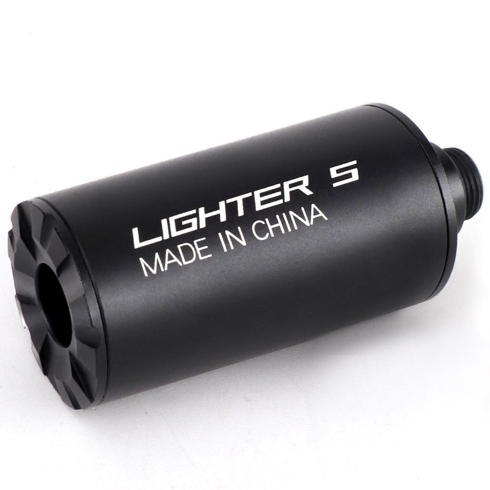 Paintball Lighter S Airsoft Gun 14mm/10mm Rifle Pistol Tracer Unit Glow In Dark Tactical Military CS Shooting Auto Tracer