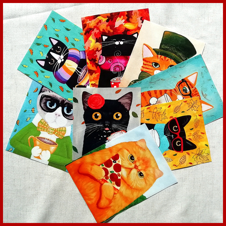 Responsible Smta 15*20cm 8pcs/lot Cute Cat Diy Suede Fabric For Purse Wallet Pillow Glasses Cloth D30 Home & Garden Arts,crafts & Sewing