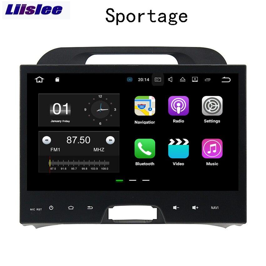 Liislee 2 din pour Kia Sportage R SL 2010 ~ 2015 Android voiture Navigation Auto Radio GPS grand écran stéréo lecteur multimédia