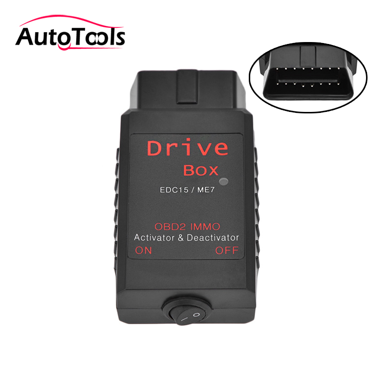 OBD2 Drive Box  IMMO Deactivator Activator for EDC15 ME7 VAG car IMMO emulator