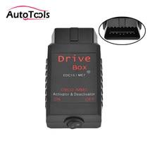 Caixa de acionamento obd2 immo ativador deactivator para edc15/me7 vag carro immo emulador
