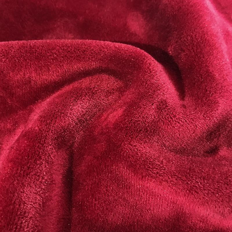 Rouge bleu grande taille L 7xl 8xl hommes décontracté laine Liner Hoodies lâche grande taille gros o cou à manches longues sweat shirt ensembles deux pièces - 4
