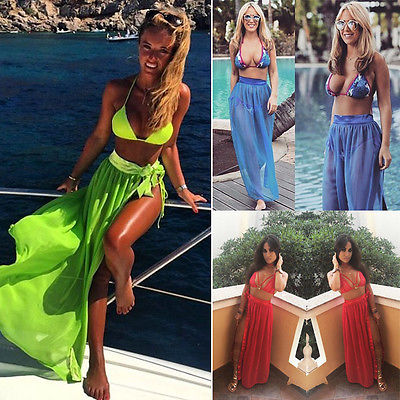 Women Beachwear Cover Up Beach Dress Summer Bathing Suit Sarong Clothes Low Cut In Ups From Sports Entertainment On Aliexpress