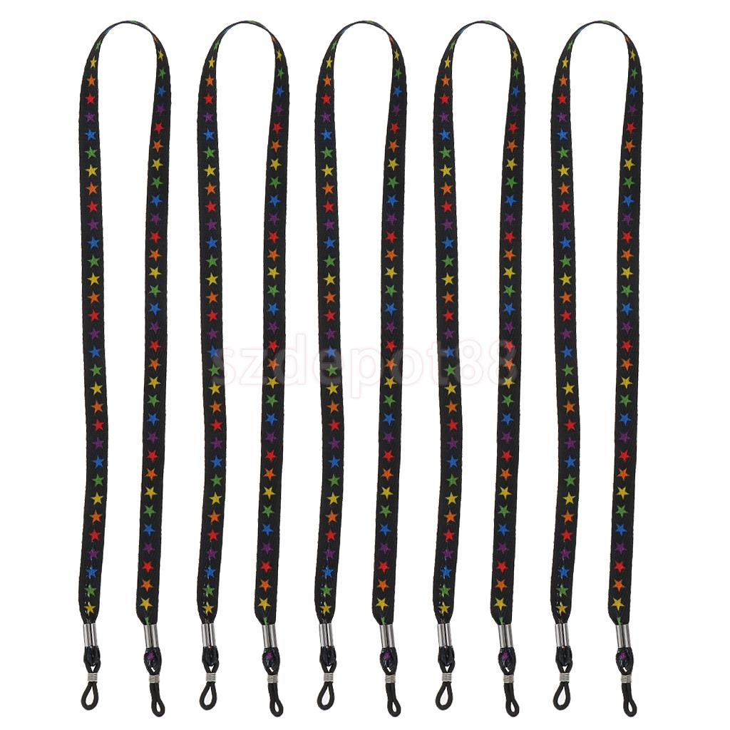 5 шт камуфляжные ремешки для солнцезащитных очков 60 см