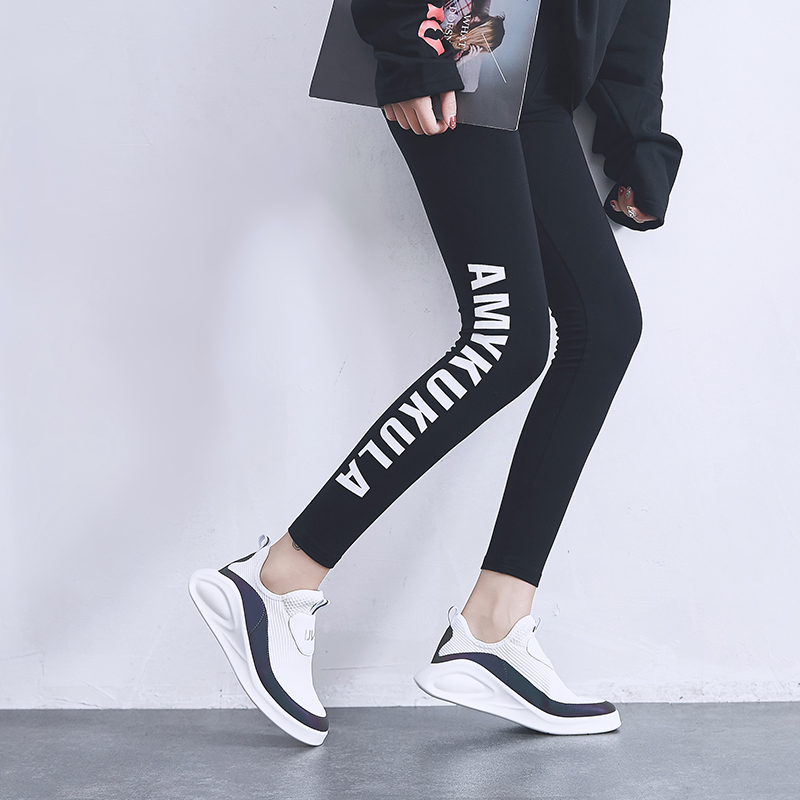 Dumoo Brand Shoes Women Sneakers Shoes Spring Summer White Casual Shoes Female Shoes Heel 3 5cm