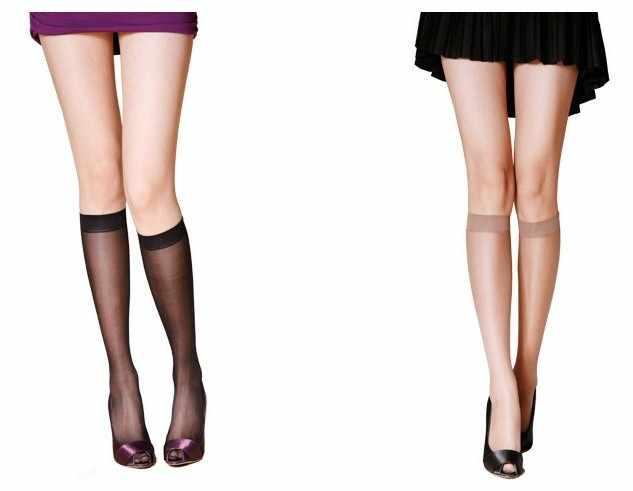 2724d1cdb ... Hot Black Print Diamond Stockings Knee Socks Fashion New Nylon Stockings  Sexy Crystal Woman Thigh High ...