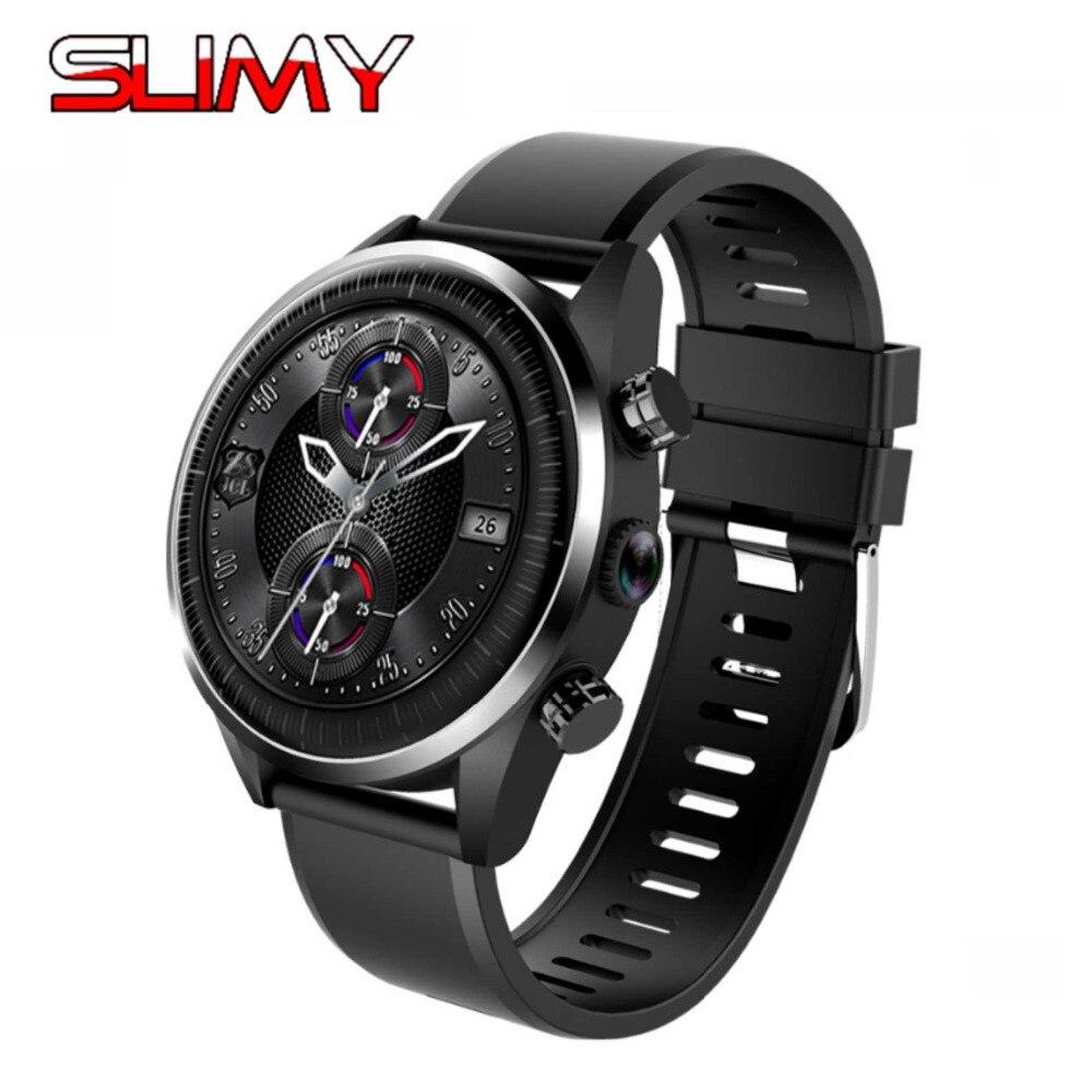 Slimy KC05 4G montre intelligente Android 7.1.1 OS Quad Core GPS 5MP caméra 620 Mah batterie Smartwatch remplacement bracelet montre à assembler soi-même visage