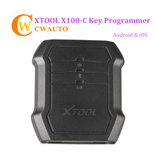 2019 Xtool X100C Auto Key Programmer for For d Mazd a Peugeo t Citroen 4 in 1 pin code reader Xtool X100C for Android IOS