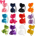 High Quality Baby Hair Band With Solid Ribbon Bow Hair Band For Kids children accessories 12 pieces/lot  ZH12-1405231