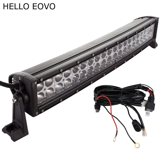 Led Work Light Bar Wiring Kit For Off Road Work Driving Offroad Boat