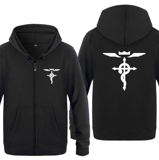 Anime Fullmetal Alchemist Print Hoodie Sweatshirt