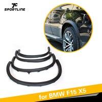 For BMW F15 X5 SUV 4 Door 2014 2015 2016 PP Car Side Wheel Arch Fender Flares Mudflap Trims