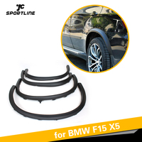For BMW F15 X5 SUV 4 Door 2014 2015 2016 PP Car Side Wheel Arch Fender Flares Mudflap Trims