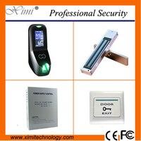 Свободное программное обеспечение 2000 отпечатков пальцев пользователя автономный комплект контроля доступа tcp/ip инфракрасная камера linux си