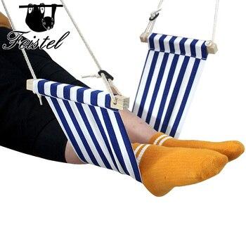 mini office foot rest stand desk foot hammock/custom mini office feet hammock/under desk foort rest canvas 8.26hammock цена 2017