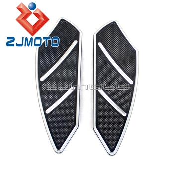 Motorcycle Front Floorboard For Harley Touring Road King Softail 1984-2015 Passenger Foot Board Footboard