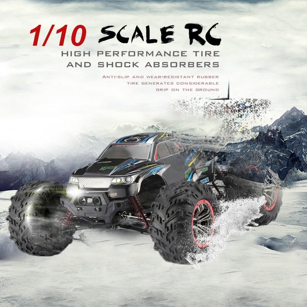 Высокое качество 9125 4WD 1/10 высокая скорость 46 км/ч Электрический сверхзвуковой грузовик Внедорожник Багги RC гоночный автомобиль электронные игрушки РТР - 2