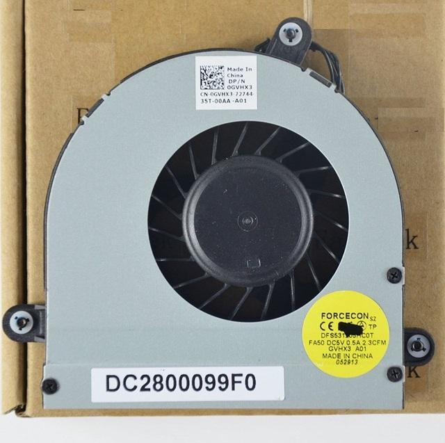 Nueva original Del Ordenador Portátil ventilador de la CPU para Dell Alienware M17XR3 M17X R3 R4 0 XVXVH XVXVH DC2800099F0