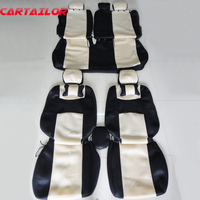 CARTAILOR car styling for honda city seat cover interior accessories set custom fit seat covers & supports sandwich cover seats