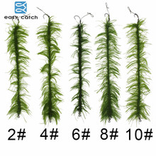 10pcs/set Weed Carp Fishing Hair Rigs Braided Thread 8245 Barbless Curve Fishing Hook Boilies Carp Fishing Lure Accessories