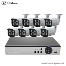 BFMore 8CH AHD 4.0MP CCTV System KITS 2592*1520 2475+OV4689 CCTV IR Outdoor Security Camera Surveillance VIDEO Email p2p xeye