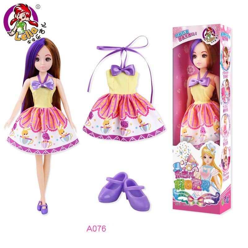 "1:6 Handmade miniature toy for 11/""-12/"" fashion dolls Colored chalk box"