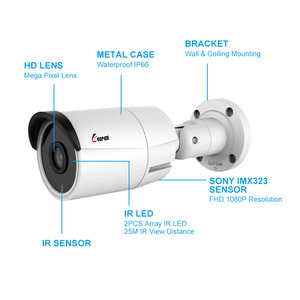 Image 2 - Keeper 2MP AHD Analog High Definition Surveillance Infrared Camera 1080P AHD CCTV Camera Security Outdoor Bullet Cameras
