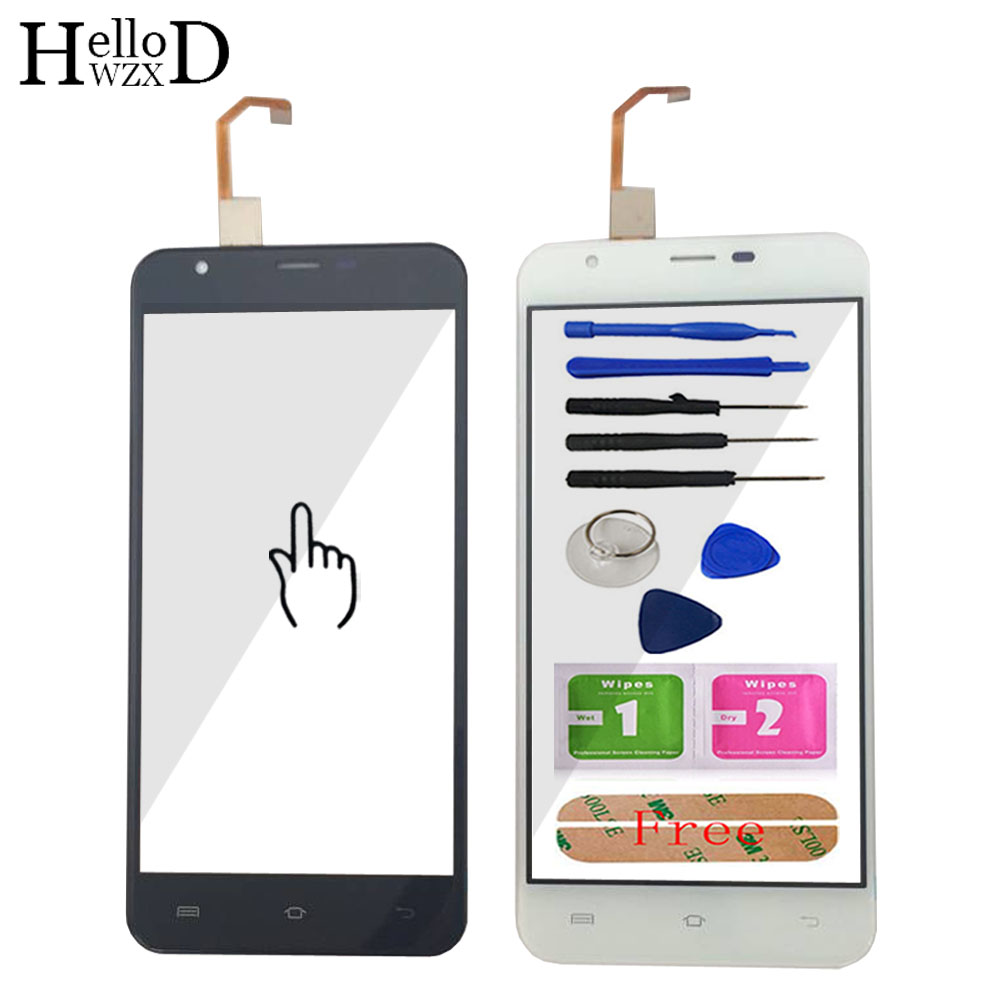 5.5'' Touch Glass For Oukitel U7 Max Touch Screen Glass Digitizer Panel Touchscreen Front Glass Lens Sensor + Adhesive